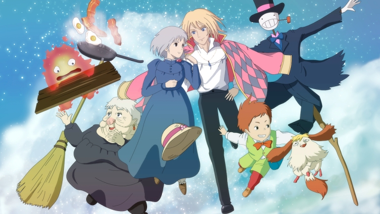Studio Ghibli HBO Max Deal Howl's Moving Castle