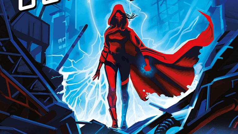 Feature From the Cover of Marissa Meyer's Superhero Book Supernova