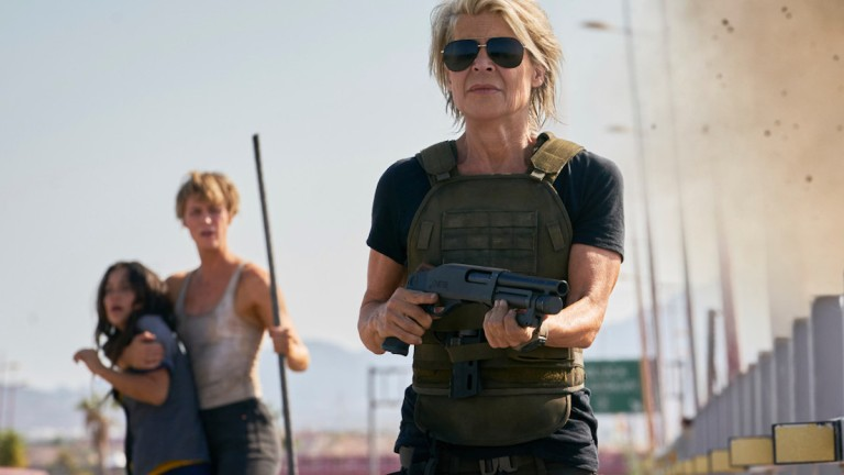Terminator Dark Fate Review Linda Hamilton and Arnold Schwarzenegger Reunion