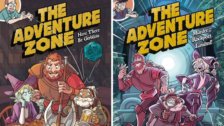 The Covers of Graphic Novel Series The Adventure Zone