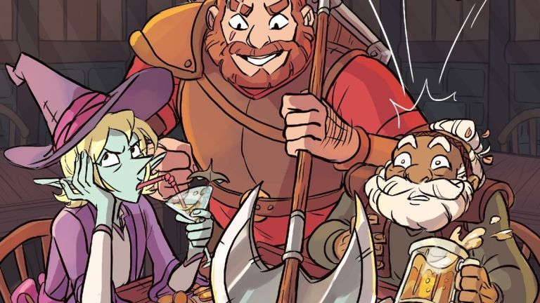 Cover of The Adventure Zone Graphic Novel, Adapted From the Podcast