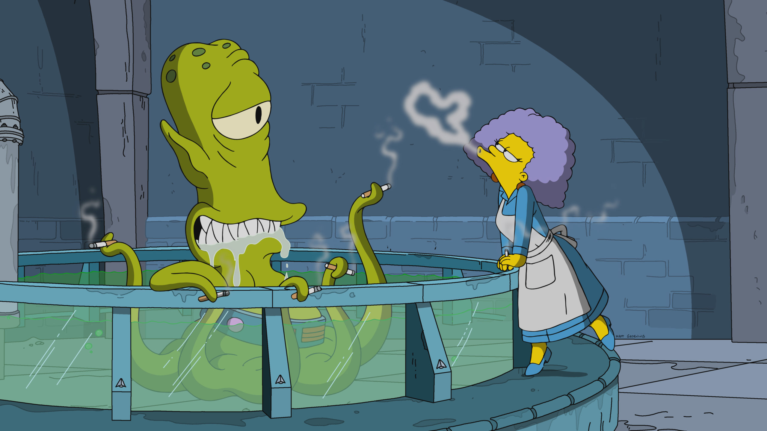 4Los Simpson Porno the simpsons season 31 episode 4 review: treehouse of horror