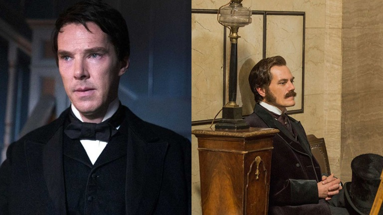 The Current War Benedict Cumberbatch and Michael Shannon Face Off