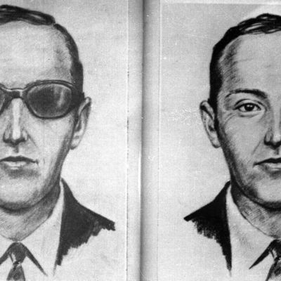 D.B. Cooper Police Wanted Sketch