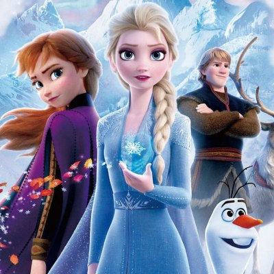 Elsa and Anna in Frozen 2 Ending
