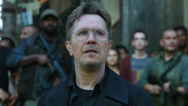 Gary Oldman in Dawn of the Planet of the Apes; Twentieth Centry Fox