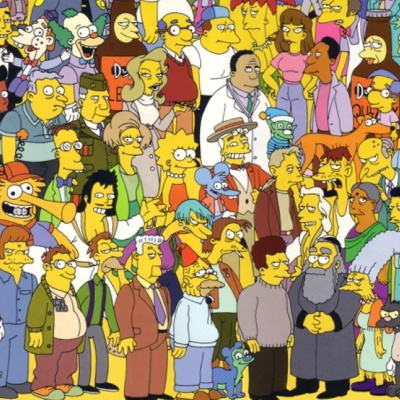 The Simpsons Guest Characters