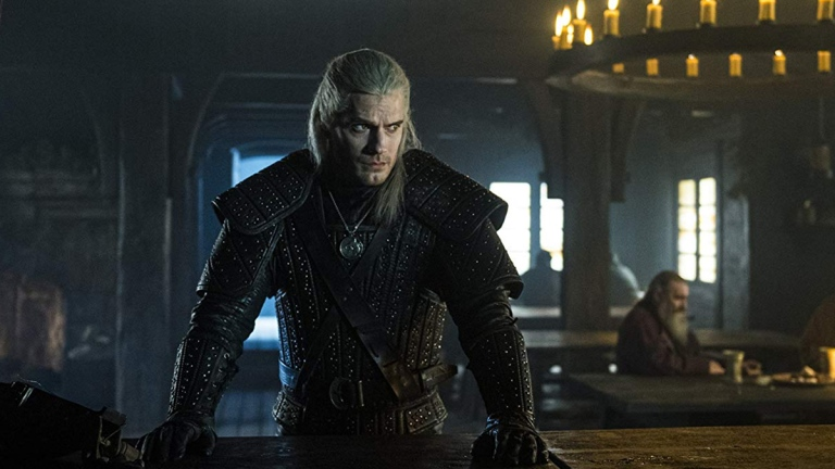 Henry Cavill in The Witcher; Netflix