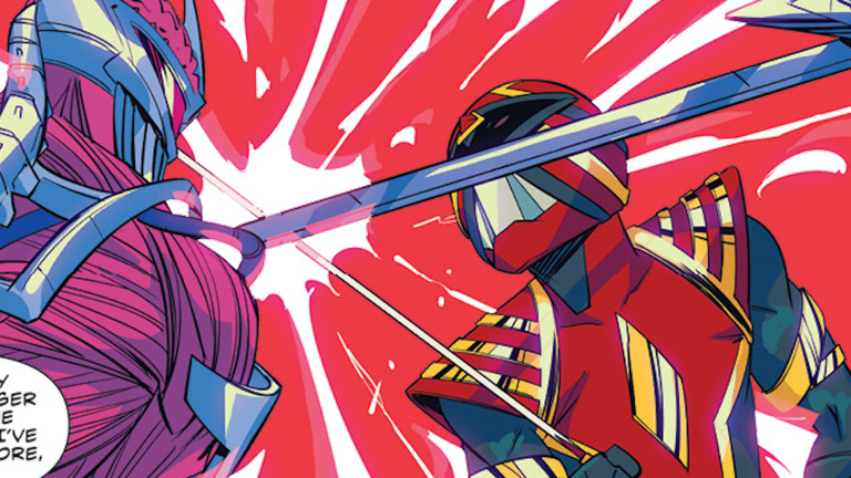 Mighty Morphin Power Rangers Issue 45 Exclusive