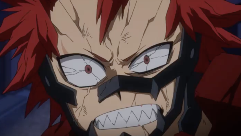 My Hero Academia Season 4 Episode 5 Let's Go Gutsy Red Riot