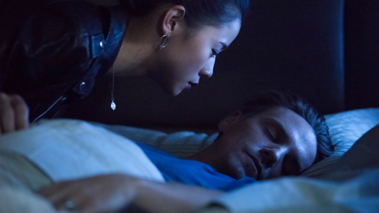 Leah Lewis as George and Riley Smith as Ryan in Nancy Drew Episode 5 on The CW