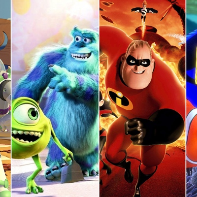Pixar Movies and Shows on Disney+