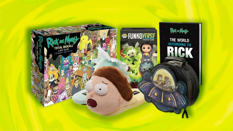 Rick and Morty Holiday Gift Guide