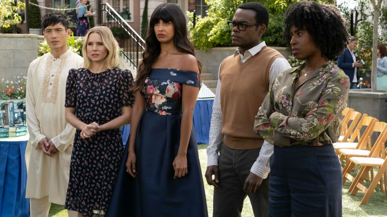 The Good Place Season 4 Episode 6 A Chip Driver Mystery