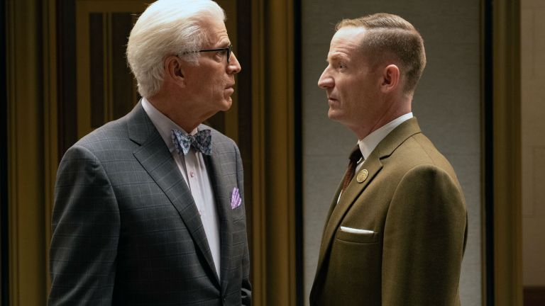 The Good Place Season 4 Episode 8 The Funeral to End All Funerals