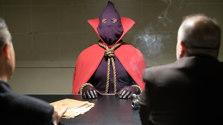 Hooded Justice on HBO's Watchmen