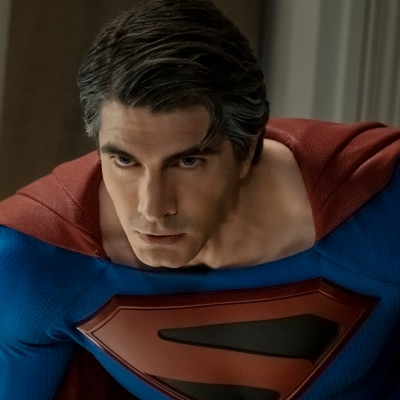 Brandon Routh as Superman in Crisis on Infinite Earths