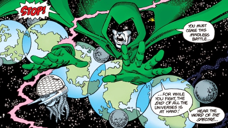 Crisis on Infinite Earths: What Does Jim Corrigan Want? | Den of Geek