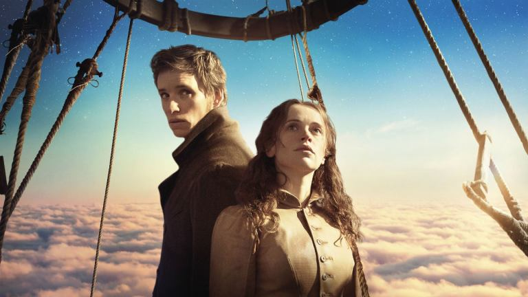 Eddie Redmayne and Felicity Jones in The Aeronauts
