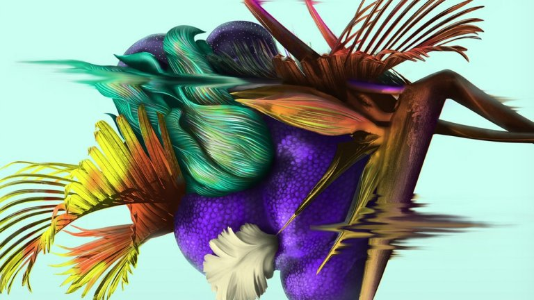 The Art on the Cover of Borne by Jeff VanderMeer