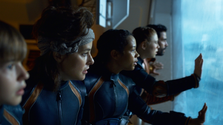 Will, Smith, Judy, Penny, and Don in Lost in Space 2