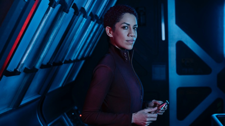 Dominique Tipper as Naomi Nagata in The Expanse