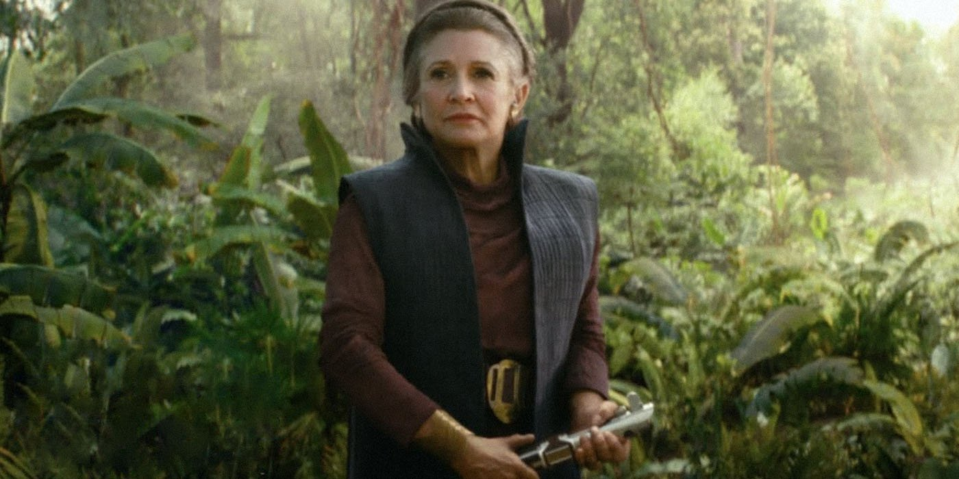Star Wars The Rise Of Skywalker Leia Fate Explained Den Of Geek