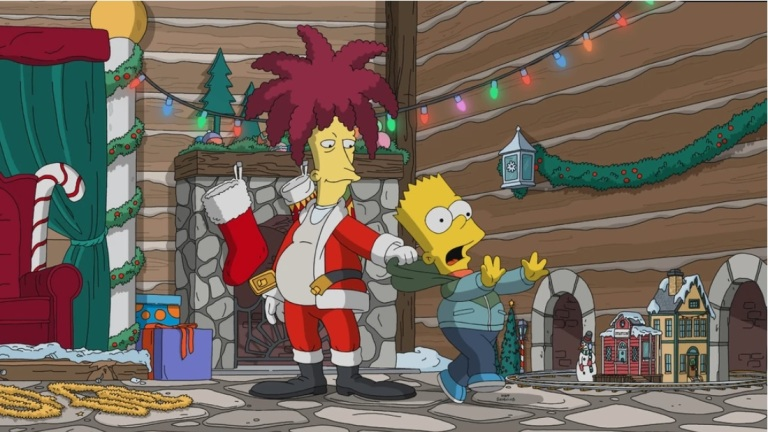 The Simpsons season 31, episode 10, Bobby: It's Cold Outside