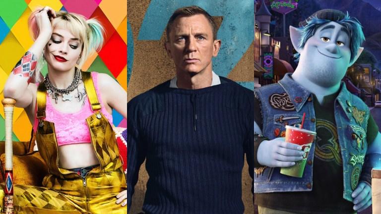 Birds Of Prey, James Bond, Onward 2020 movies montage