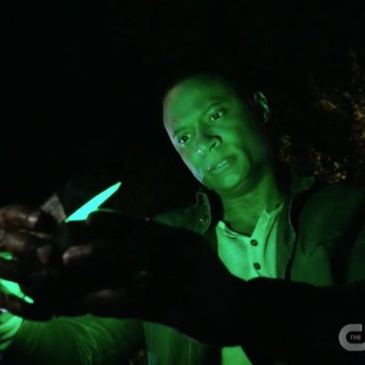 David Ramsey as John Diggle Green Lantern in Arrow Series Finale