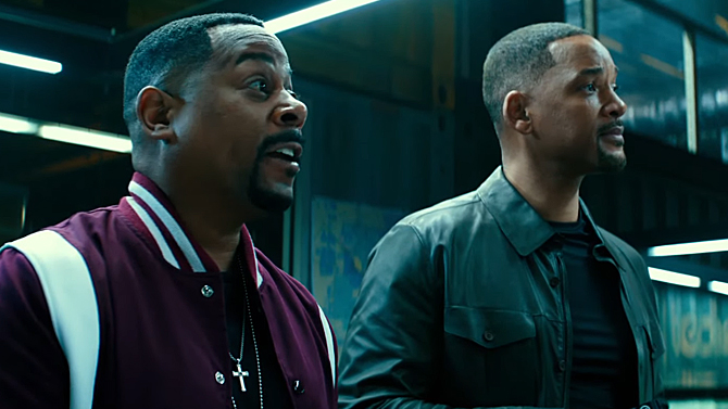 Martin Lawrence and Will Smith in Bad Boys for Life; Sony Pictures