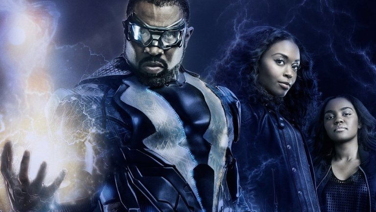 The Cast of Black Lightning on The CW