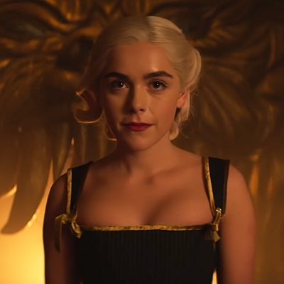 Kiernan Shipka in Chilling Adventures of Sabrina Part 3; Netflix