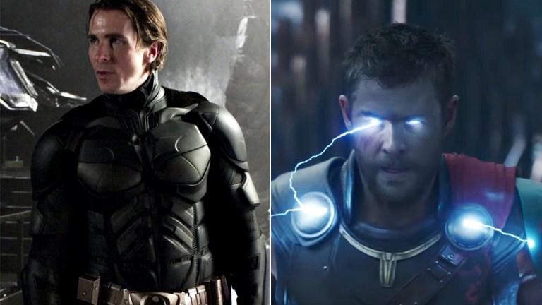 Christian Bale Batman in Thor Love and Thunder