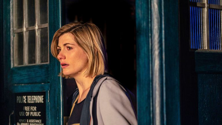 Jodie Whittaker as the Doctor in Doctor Who Season 12