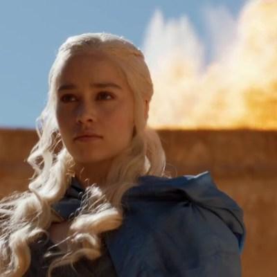 Daenerys Burning Astapor in Game of Thrones Season 3