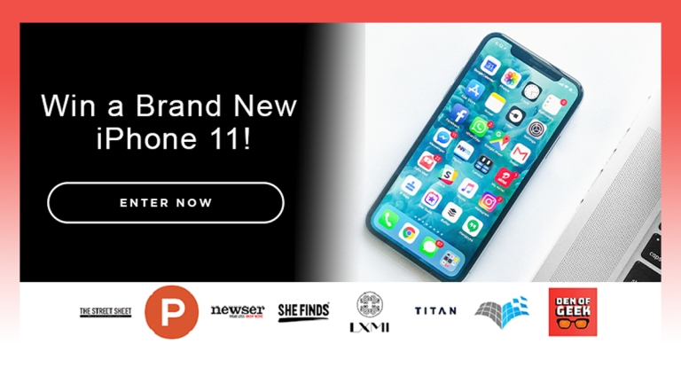 iPhone 11 Cash Giveaway