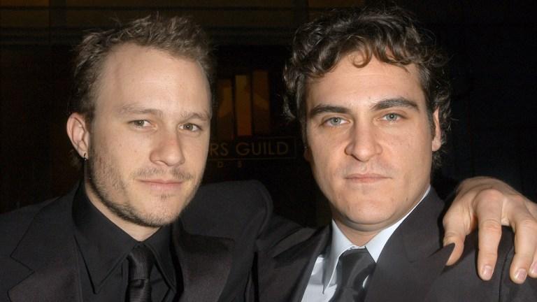 Joker Actors Heath Ledger and Joaquin Phoenix