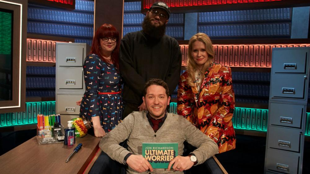 Jon Richardson in Ultimate Worrier with Lucy Beaumont