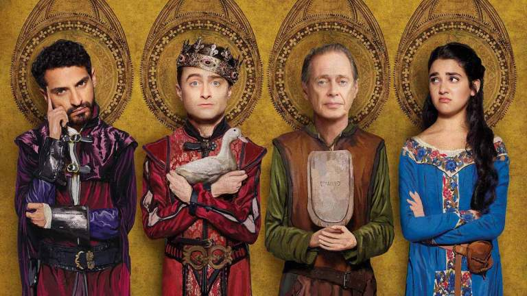 The cast of Miracle Workers: Dark Ages.