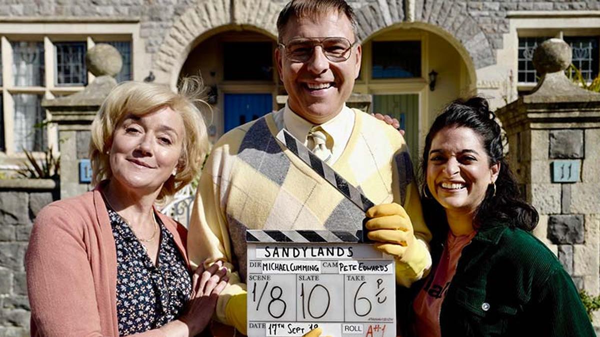 David Walliams in Sandylands on Gold