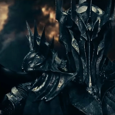 Sauron in The Lord of the Rings: The Fellowship of the Ring prologue.