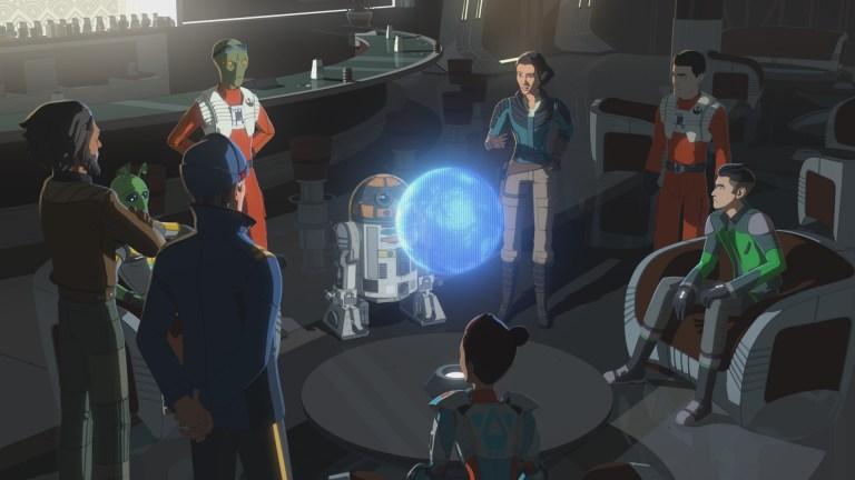Star Wars Resistance Season 2 Episode 17 Rebuilding the Resistance