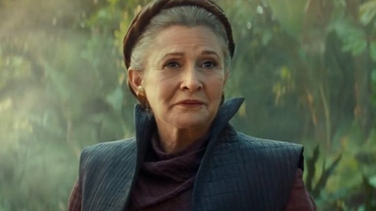 Star Wars: The Rise of Skywalker Leia