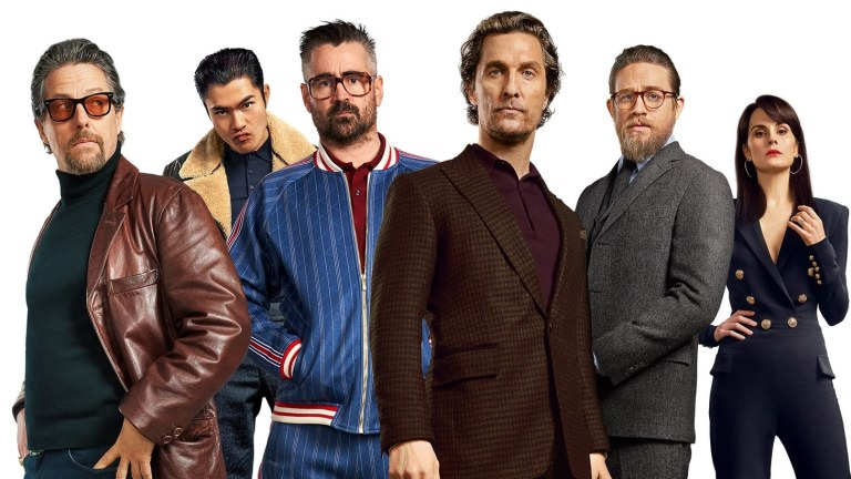 The Gentlemen starring Hugh Grant and Matthew McConaughey