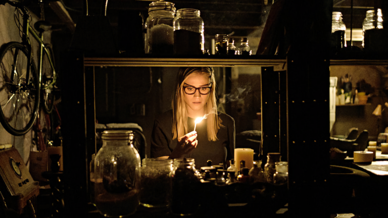 Olivia Taylor Dudley as Alice in The Magicians