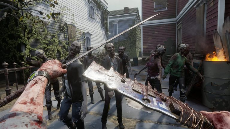 The Walking Dead Saints and Sinners VR game