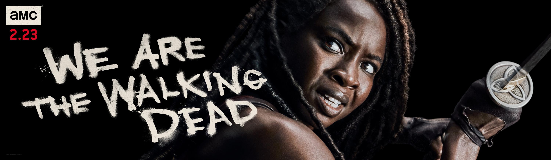 The Walking Dead Season 10 Michonne Poster