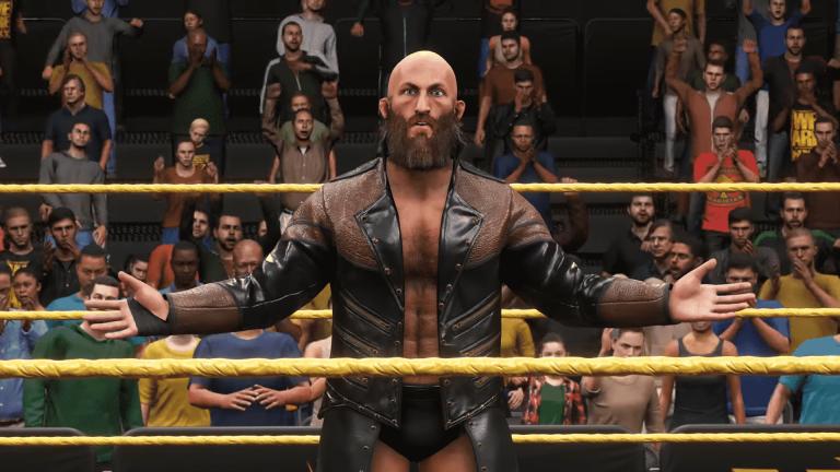 WWE 2K20 glitch