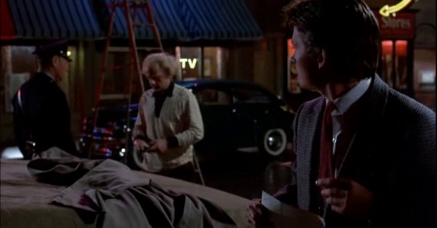 Back to the Future - The Doc's bribe